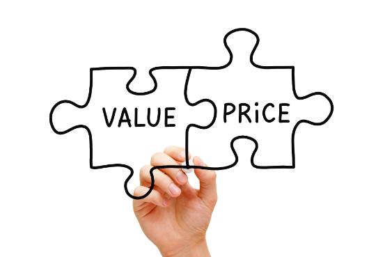 Value & Price concept