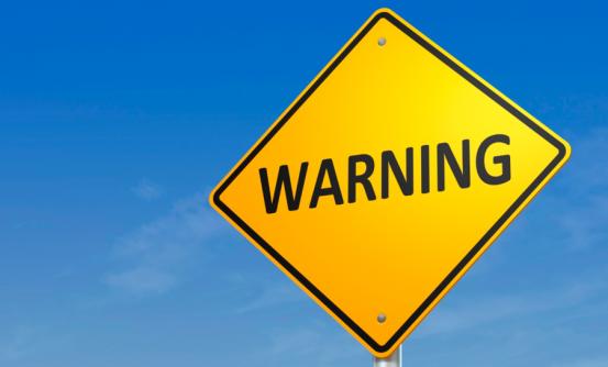 panneau danger avertissement